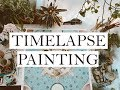 Watercolor Time lapse Painting -Visionary Art