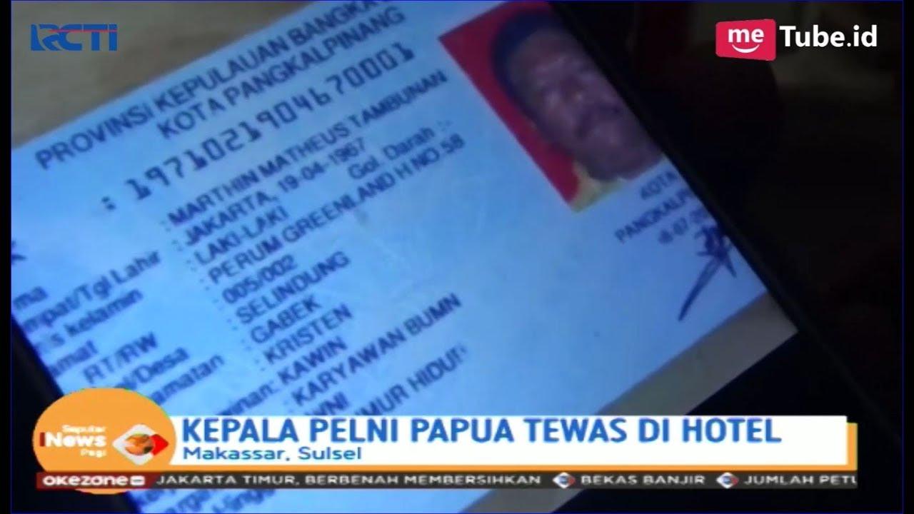 Kepala Cabang Pt Pelni Kab Nabire Ditemukan Tewas Di Hotel Makassar Sip 29 04