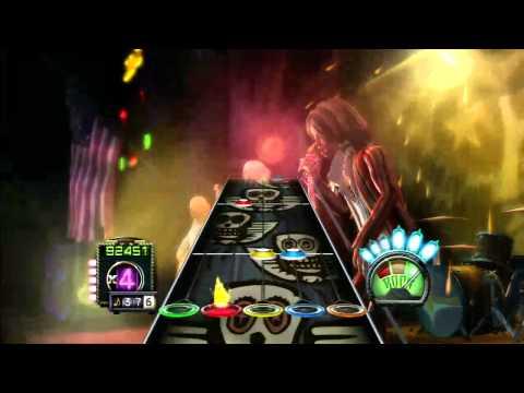 [720P HD] Guitar Hero Aerosmith - Back In The Saddle - Expert Guitar - 100% FC