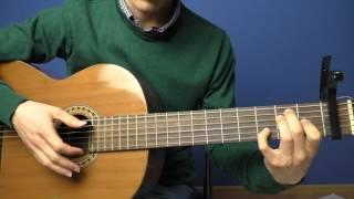 Разбор на гитаре / На братских могилах - Высоцкий / Урок
