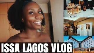 LAGOS NIGERIA VLOG -  BEAUTY EVENT in Victoria Island   Sassy Funke