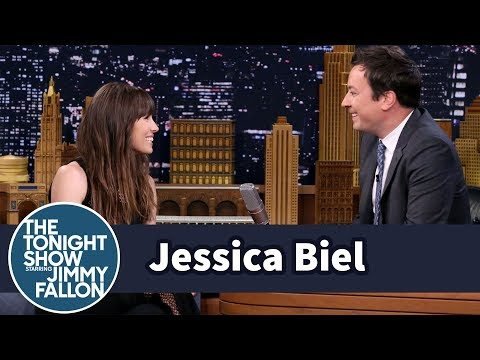 Jessica Biel Justin Timberlake And Jimmy Fallon Broke Into House Together