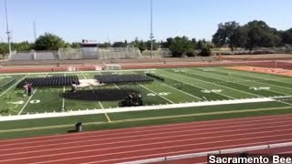 California High School Seniors Set Graduation Stage On Fire