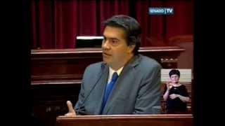 Ernesto Sanz interroga a Jorge Capitanich sobre la devaluación