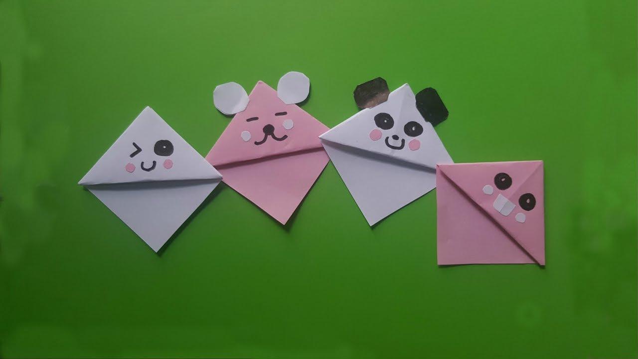 Cách làm kẹp sách bằng giấy cực dễ thương | Sáng tạo với giấy
