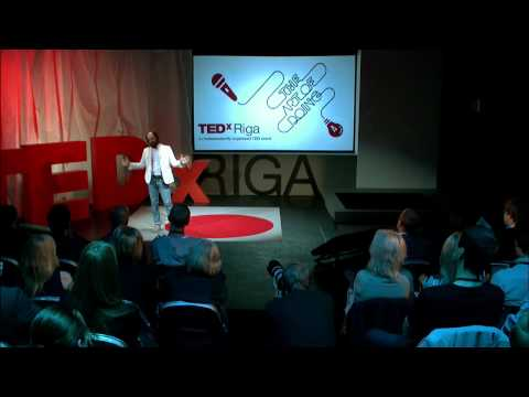 (Un)screw the Machines: Voldemārs Dūdums at TEDxRiga