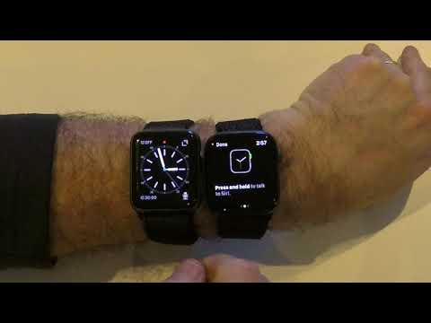 Apple Watch Series 4 Unboxing and setup