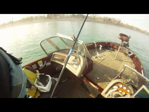 First Cast Catches On Upper Niagara River
