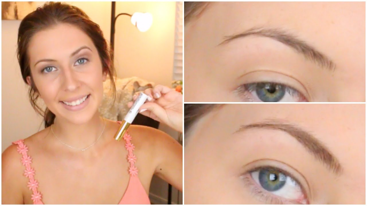 Measurable Difference Brow Tint Lift Review Makeup Minute Youtube