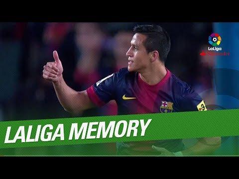 LaLiga Memory: Alexis Sanchez Best Goals and Skills