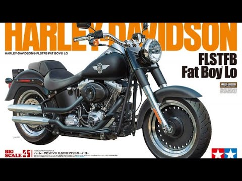 Tamiya 1/6 Harley Davidson fatboy lo part 11