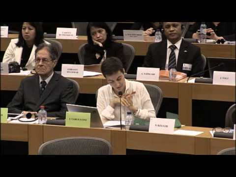 European Parliament Committee Meeting 6 November 2014: EU-Burma Investment Agreement