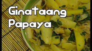Ginataang Papaya Recipe - Tagalog Pinoy