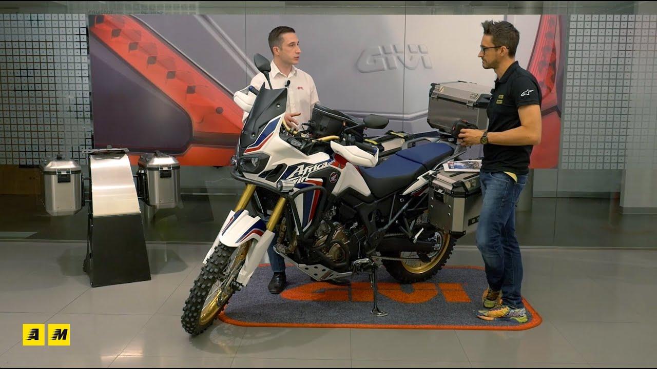 GiVi: Kit per Honda CRF1000L AfricaTwin - YouTube