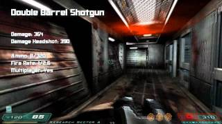 Doom 3 & Resurrection of Evil - All Weapons & Statistics