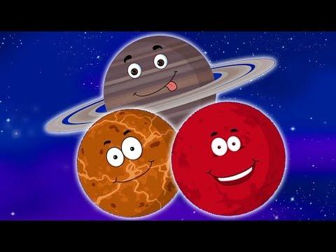 Планеты мультфильм смотреть