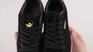 Обзор реплики кроссовок Puma by Rihanna creeper черные