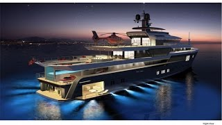 68m Explorer Superyacht by Tony Castro for Sunrise Yachts