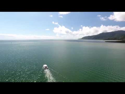 Drone Footage Of THE MAKER, Our POWERCAT Sports Fisherman 2900