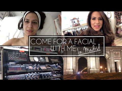 Come for a Facial & Shopping With Me | Madrid Vlog | JASMINA BHARWANI