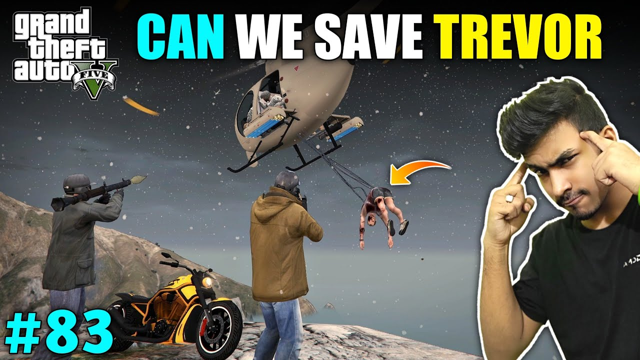CAN WE SAVE TREVOR FROM MILITARY | GTA V GAMEPLAY #83 thumbnail