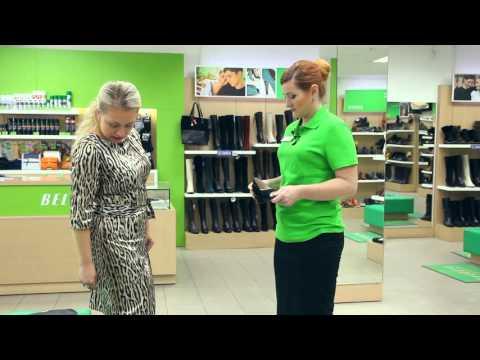 Обучение персонала 4 серия Презентация обуви Работа с возражениями