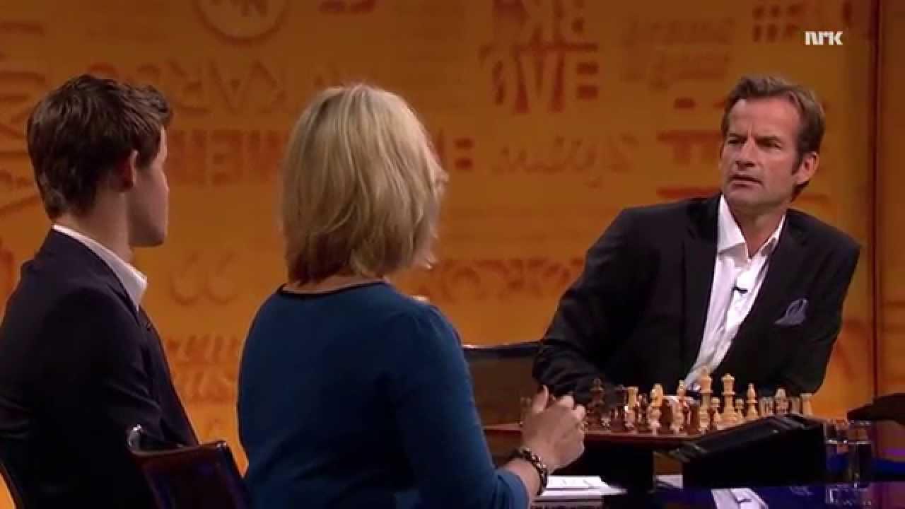 Jon Utfordrer Magnus Carlsen Youtube