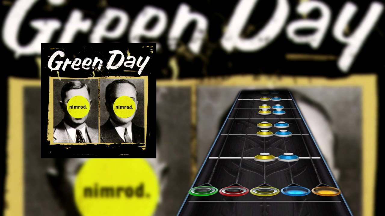 Platypus (I Hate You) By Green Day Chart For GH3PC - YouTube