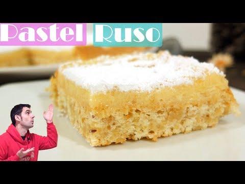 Pastel Ruso muy rico, receta fácil.