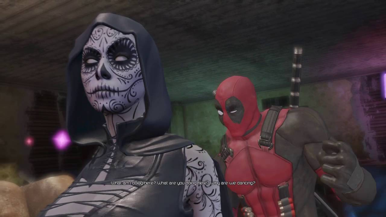 Deadpool And Lady Death Deadpool Dance With La...