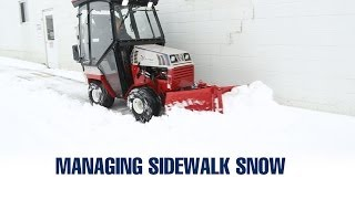 Top Snow Contractors Discuss Sidewalk Management Thumbnail