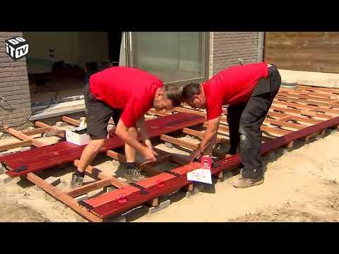 Aménager un jardin de rêve:  Terrasse en bois