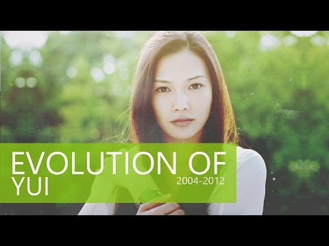 EVOLUTION OF YUI (2004-2012)