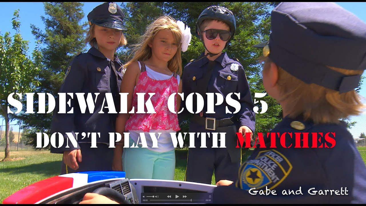 Download Sidewalk Cops Episode 5 - Don't Play With Matches!