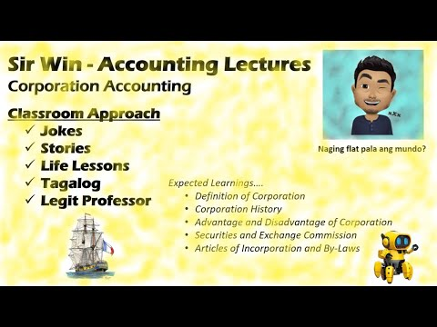 Lecture 01: Corporation Accounting.