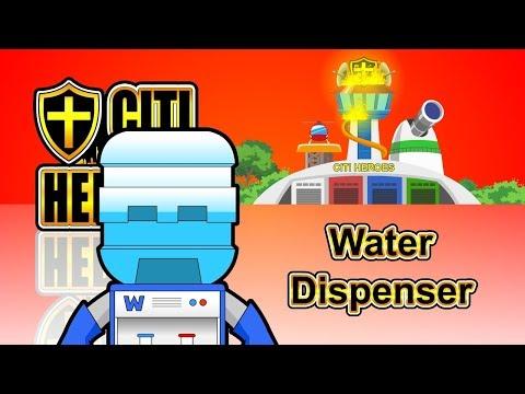 """Citi Heroes EP91 """"Water Dispenser"""""""