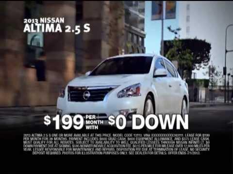 Harte Nissan Sign U0026 Drive   Altima