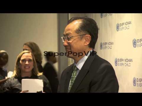 President of The World Bank Group Jim Yong Kim at United ...