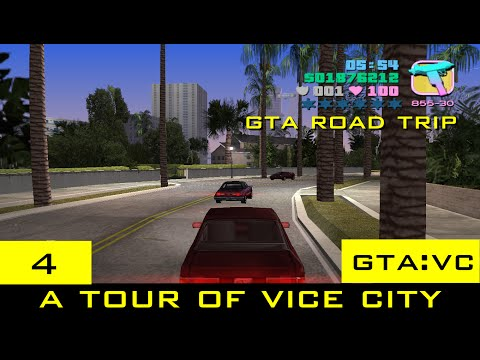 The GTA Vice City Tourist: A Tour of Vice City