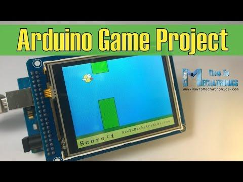 Arduino Game Project - Replica of Flappy Bird for Arduino
