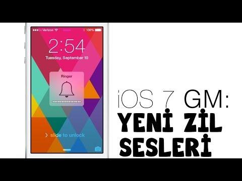 iOS 7 ile Birlikte Gelen Yeni Zil Sesleri iPhone 5s - iPhone 6