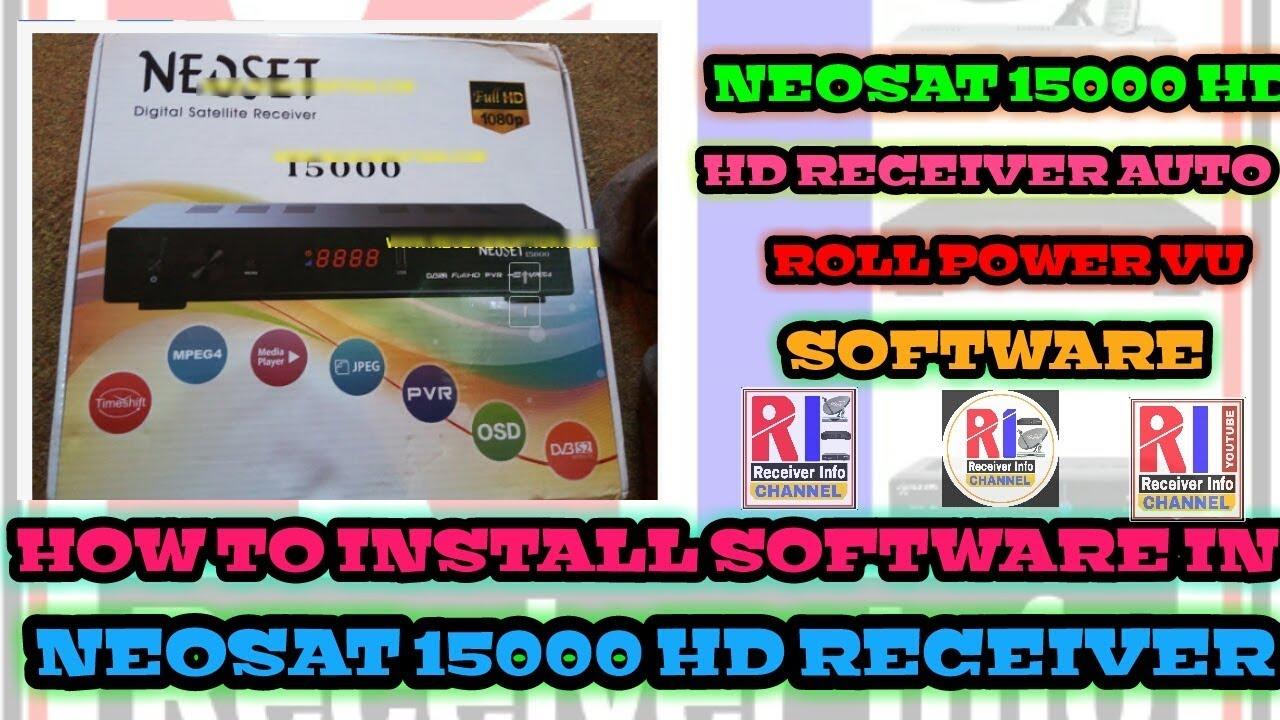 NEOSET 15000 HD POWERVU SOFTWARE AUTO UPDATE POWERVU SOFTWARE