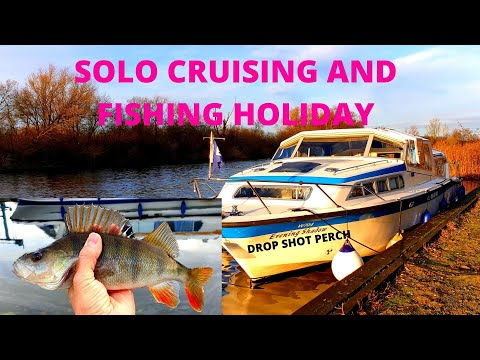 Norfolk Broads Boating And Fishing Holiday