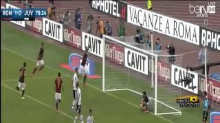 اهداف مباراة روما ويوفنتوس 2 -1 حفيظ دراجي