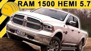 DODGE RAM 1500 5.7 HEMI V8 TEST (Deutsch) & OFFROAD REVIEW | 400 PS als Longhorn mit LPG