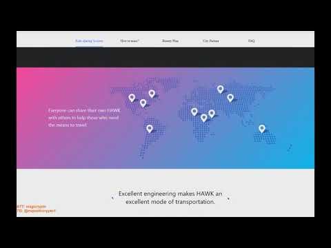 Hawk Network - революционный блокчейн проект в сфере IoT!