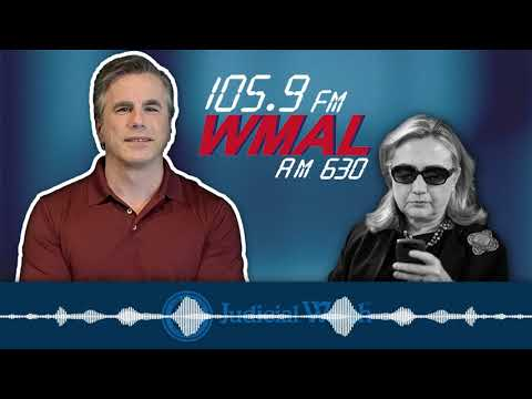 Tom Fitton on WMAL: Hillary Clinton ORDERED by Court to Answer Key Questions on Email Server