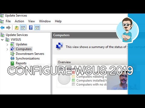 Configure WSUS On Windows Server 2019!