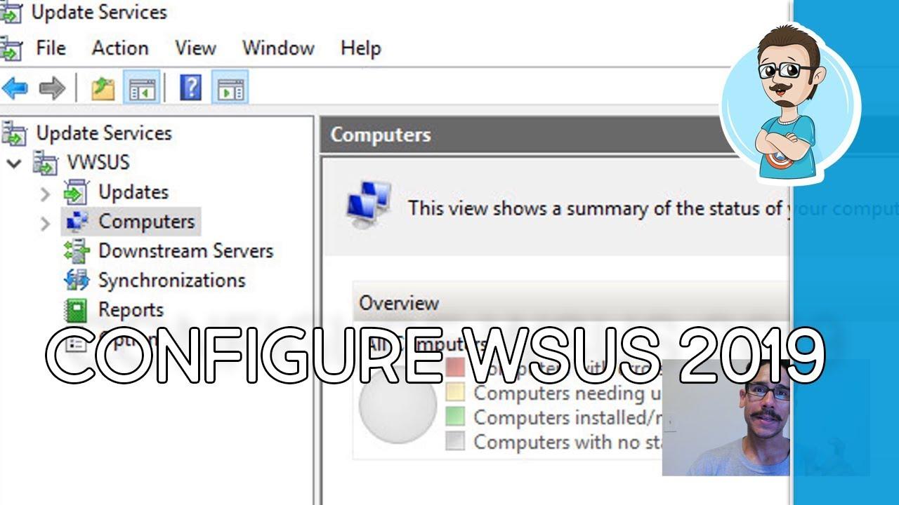 Configure WSUS on Windows Server 2019!
