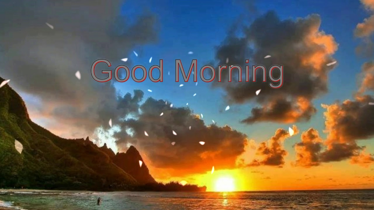 Good Morning Wishes With Beautiful Nature Wallpapers Youtube